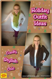 Comfy stylish chic holiday outfit ideas
