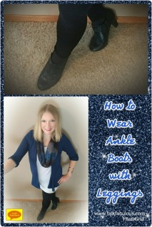 Ankle boots leggings how to casual style