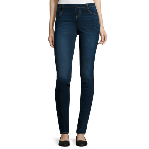 JCP Mixit Denim Stretch Leggings