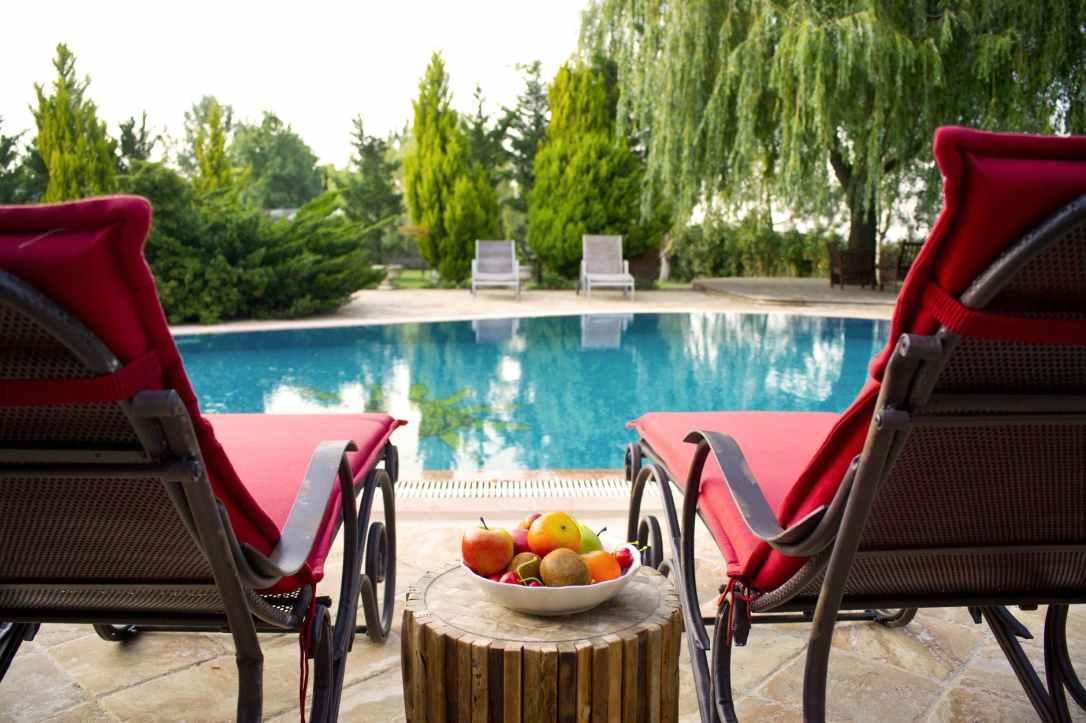 apples aqua beach chairs blue water