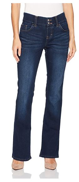 Riders by Lee Indigo Women's Pull on Waist Smoother Bootcut Jean