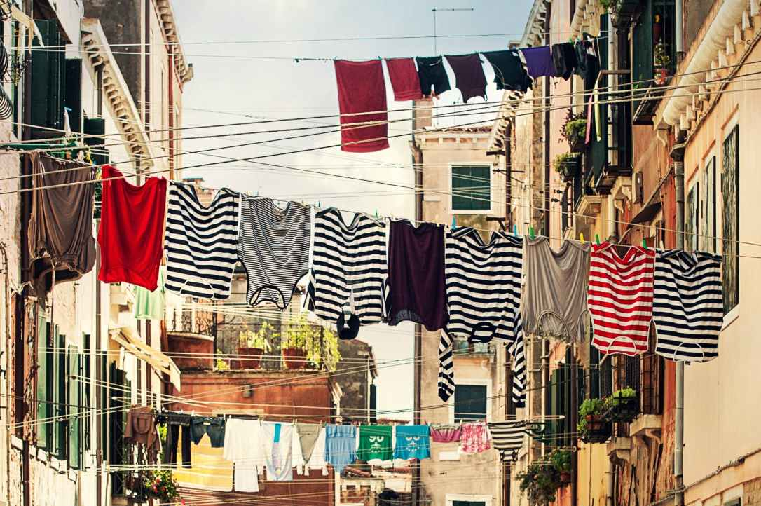 italy laundry washing venice
